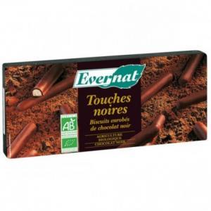 Biscuits enrobés de chocolat noir bio