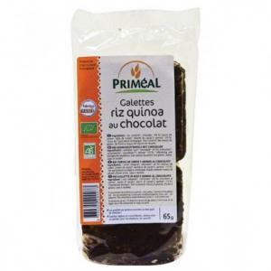 Galettes riz quinoa au chococolat bio