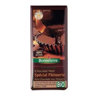 Chocolat noir 60% cacao pâtisserie bio