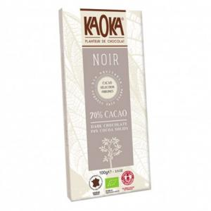 Chocolat noir 70% cacao bio