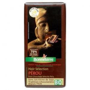 Chocolat noir du Pérou bio