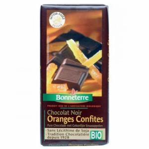 Chocolat oranges confites bio