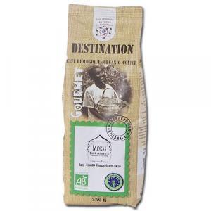 Café moulu Mokas bio d'Ethiopie