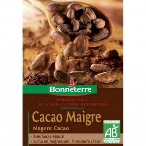 Cacao maigre bio
