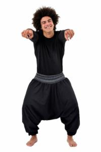 Sarouel elastique noir Mikos hiver