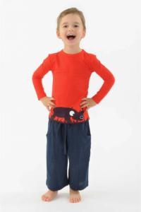 T shirt enfant Rhinoferoce pur coton bio manches longues