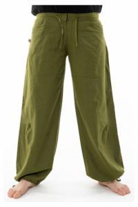 Pantalon hybride mixte vert kaki army uni