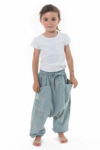 Sarouel pantalon enfant coton leger Ilam