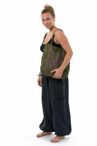 Sac tote bag coton imprime hippie indian ethnic chic