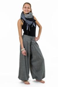 Pantalon ethnic chic aladin zen ceinture corset chine Divyna