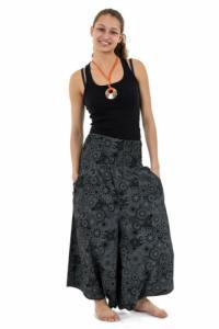 Sarwel pantacourt femme effet jupe ceinture elastique Kaleidoscope