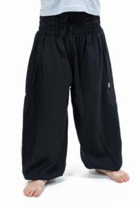 Pantalon sarouel enfant noir Kidika
