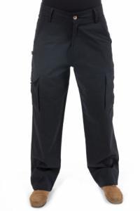 Pantalon classe noir ethnique Zarga