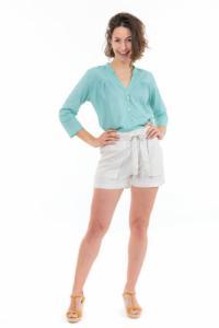 Short femme noeud natural Hyna