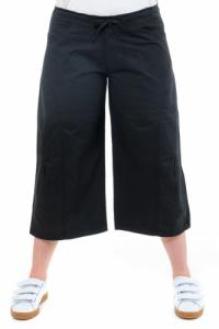 Pantalon raccourci pantacourt hybride noir