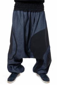Sarouel jean grande taille mixte Zeus