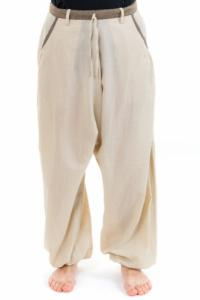 Pantalon sarouel droit casual Samadhi personnalisable