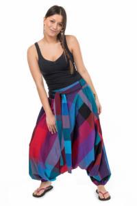 Sarouel femme ceinture elastique Bachatah personnalisable