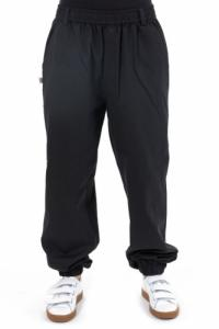 Pantalon noir uni elastique Matiha personnalisable