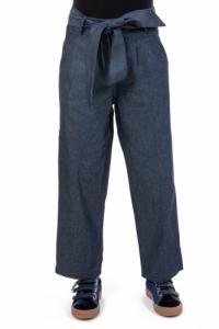 Pantalon jean droit large street chic