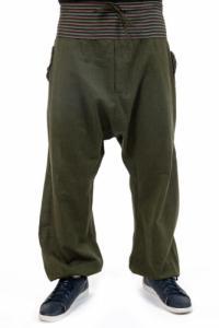 Pantalon sarouel grande taille Suntala