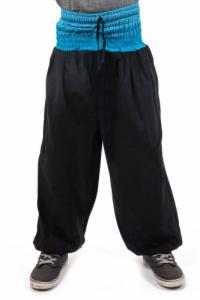 Pantalon sarouel enfant sari bleu