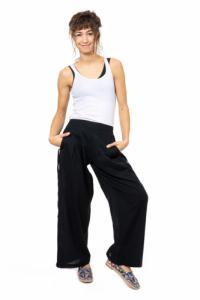 Pantalon aladin basic ethnic noir Anais