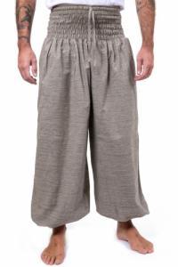 Pantalon saroual large elastique June rayures
