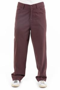 Pantalon droit mixte brown Naema