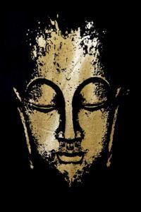 T-shirt homme visage Bouddha meditation