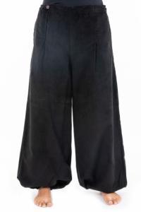 Pantalon large femme hiver velours Selma