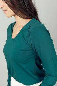 T-shirt femme coton bio Asya