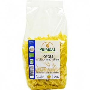 Tortils citron safran bio