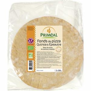 Fond de pizza à la farine complète bio