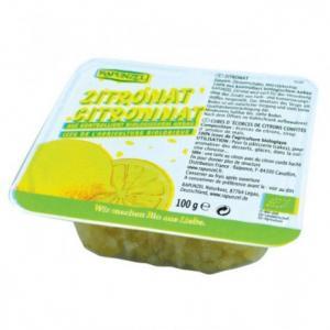 Citron confit bio