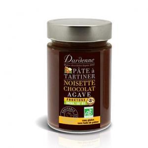 Pâte à tartiner chocolat noisette sans gluten bio