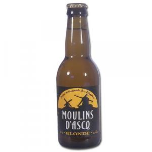 Bière bio blonde Moulins d'Asq