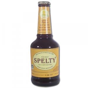 Bière bio brune sans alcool Spelty
