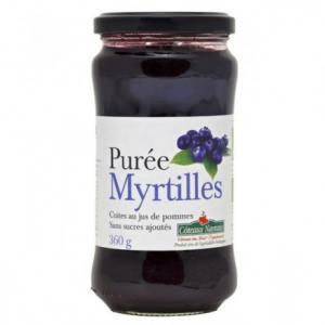 Purée Myrtille bio