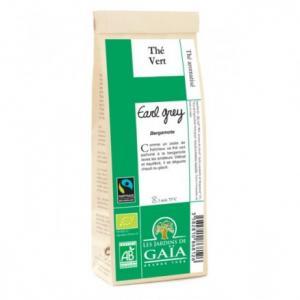 Thé vert bio Earl Grey Bergamote