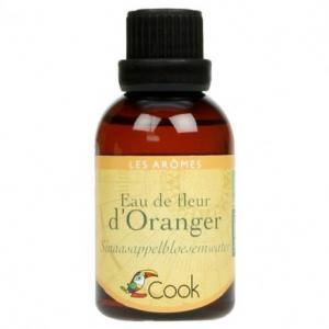 Arôme d'eau de fleur d'oranger bio