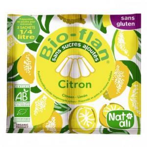Bio Flan citron bio