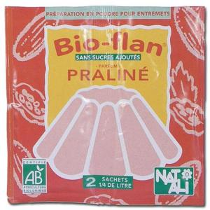 Bio Flan Praliné bio