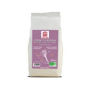 Crème 5 céréales bio