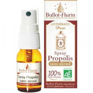 Spray à la propolis sans alcool bio