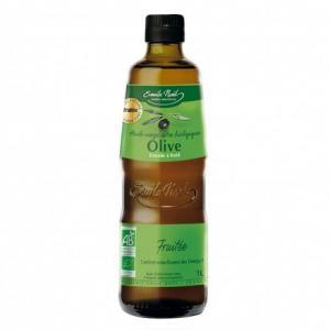 Huile d'olive vierge extra bio saveur fruitée