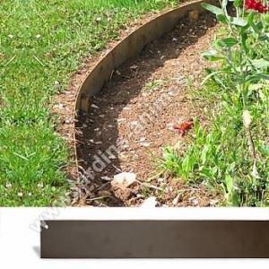 Bordurette de jardin acier 2m