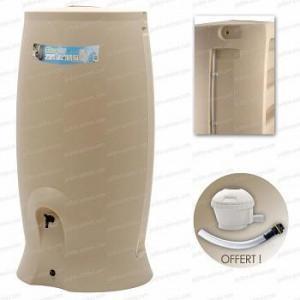 Récupérateur eau 500 l beige