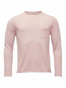 Fine single knit with roll adges - Pale mauve - Knowledge cotton apparel