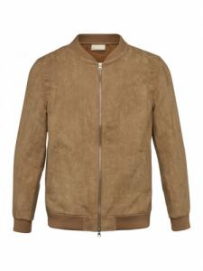 Suede Jacket - Tuffet - Knowledge cotton apparel